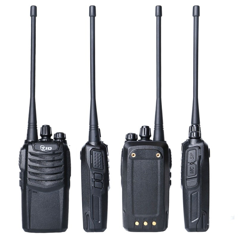 Commercial walkie tallkie cheap handset radio 16CH CE approved TD-V30 1/4/5watts two way radio