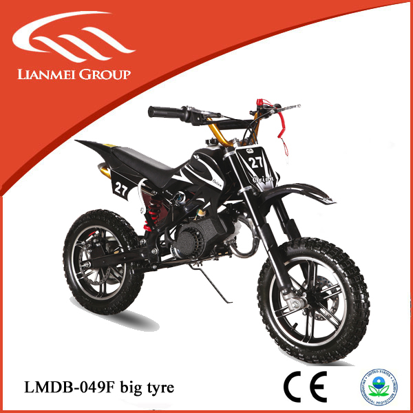 direct factory supply 49cc 2 stroke dirt bike with variety colour and fine quality