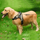 Camouflage Dog Soft Saddle Harness and No Choke Design Dog Harnesses for Medium/Large dog