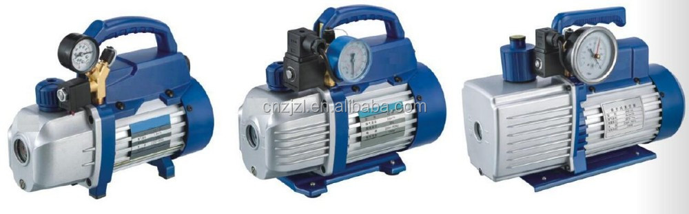 RESOUR Single Stage Rotary Vacuum Pump, Dual Voltage Stage