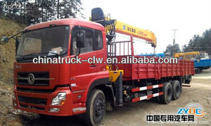 excellent Dongfeng lorry mounted 10Tons crane