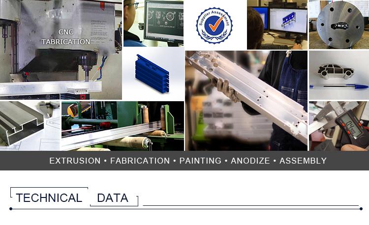 anodising aluminium process mill finish aluminum machined custom aluminum extrusion parts