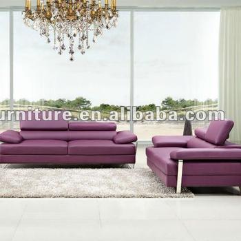 Stupendous Purple Color Bonded Leather Home Furniture Sofa Set 3 2 1 Seater Sofa Buy Leather Furniture Home Furniture Furniture Sofa Product On Alibaba Com Uwap Interior Chair Design Uwaporg