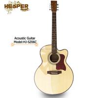 41 inch Jumbo style acoustic guitar, Zebra jumbo acoustic guitar,guitarra,musical instrument