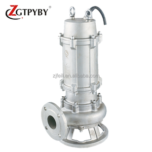 304&316 series stainless steel sewage pump hydraulic ram pump