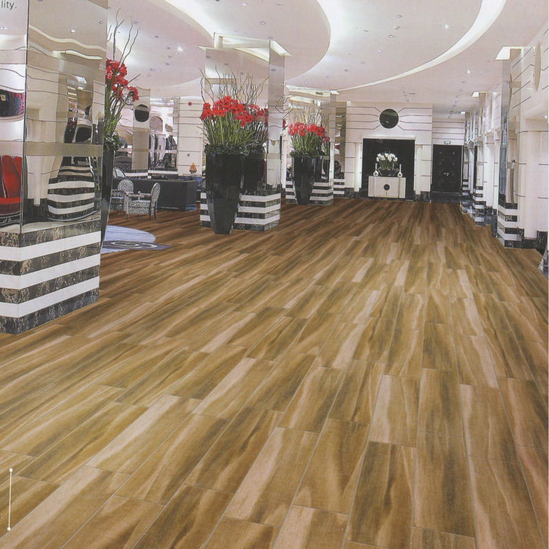600x900mm retro style wood grain ceramic flooring tiles