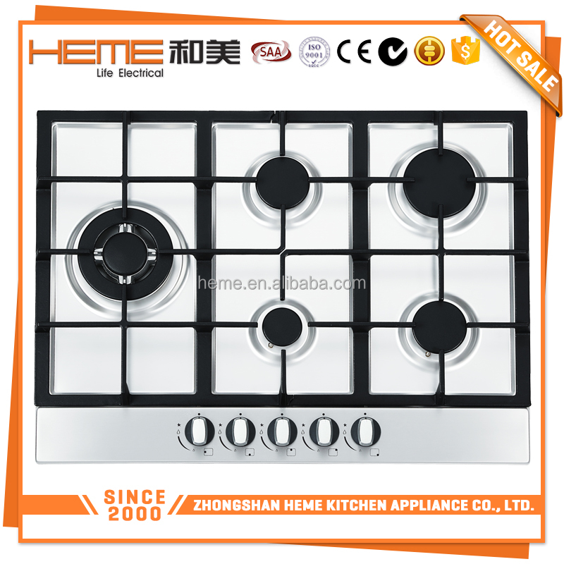 Easy operation Stainless steel surface Built-in gas cooker brands (PG7051LS-CCI)