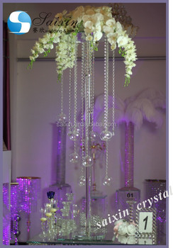 Unique wedding table centerpiece tall crystal flower stands zt 203t unique wedding table centerpiece tall crystal flower stands zt 203t junglespirit Images