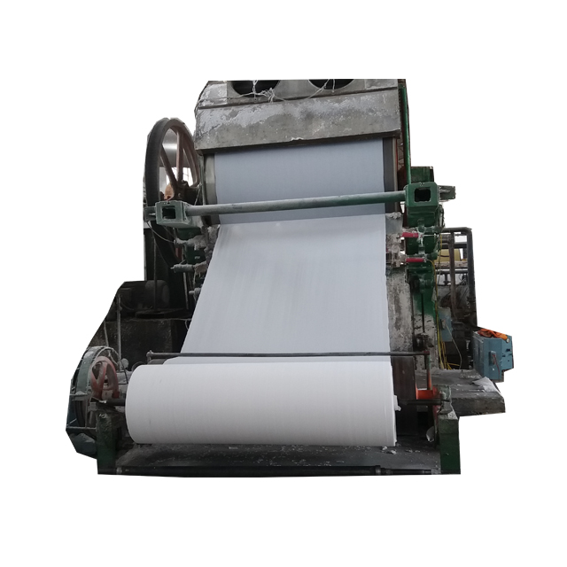 Waste Paper Recycling Toilet Tissue Paper Making Machine