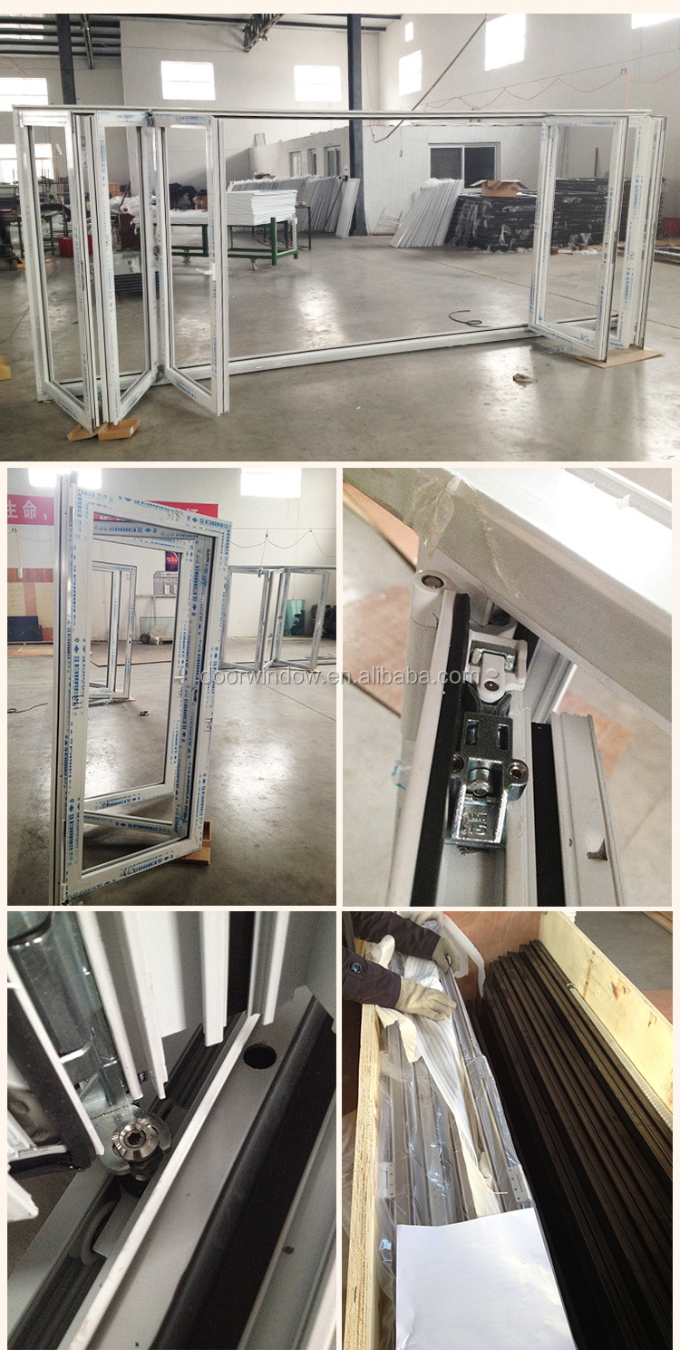 Folding wall partition shower doors screen folding screen door
