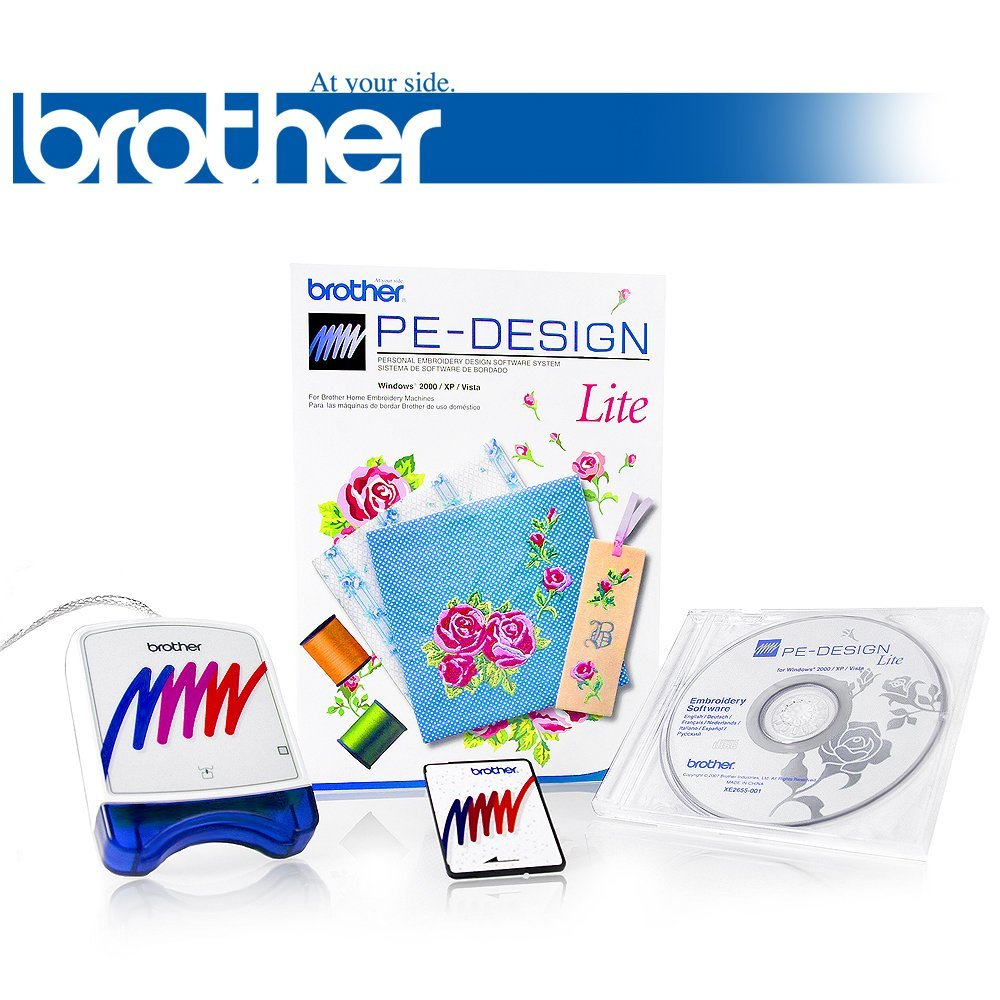 Buy Brother PE Design Lite Embroidery Software - Comes with