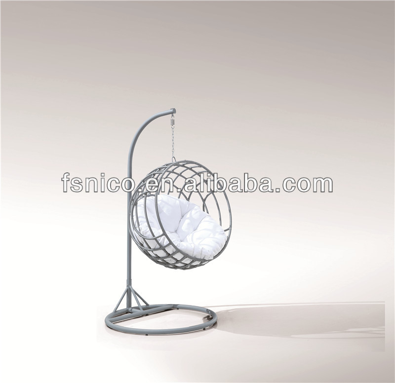 Swing bubble chair