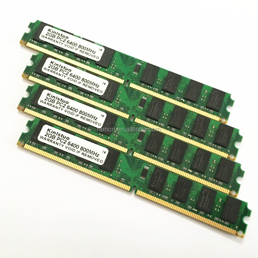 Hight quality DDR2 2GB 800MHz RAMs 240pin for desktop