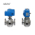 Flanged connect 3 Way Electric Ball Valve