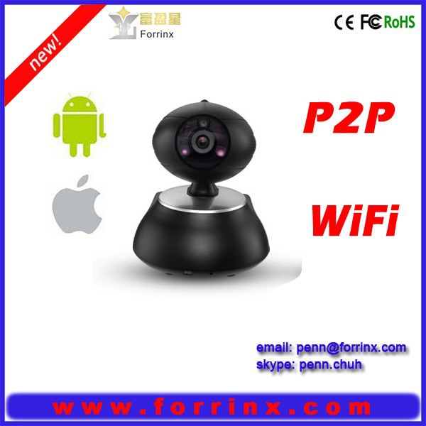Smart Phone Cloud P2P Two Way Audio Pan Tilt IP Camera Intelligent Home Baby Monitor HD 720P Wireless WIFI Pan Tilt Camera