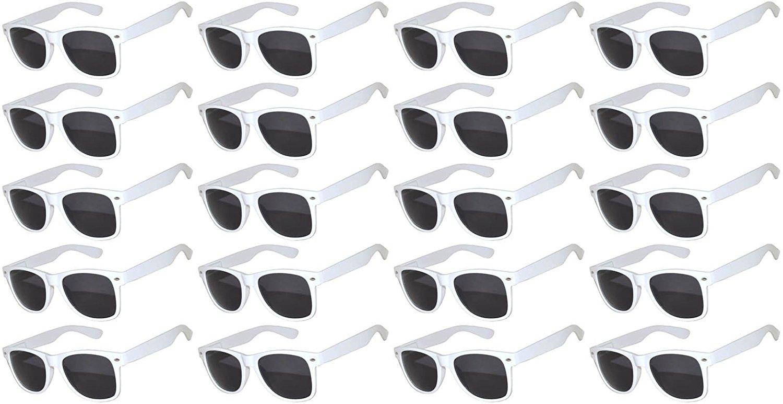 25f7c8ce553 Get Quotations · 20 Pieces Per Case Wholesale Lot Retro Vintage Sunglasses  Colored Plastic Frame Smoke Lens. Wholesale