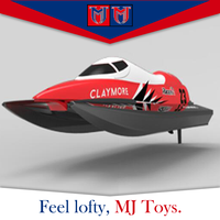 High quality electric hobby high speed small jet cool rc brushless boat for sale