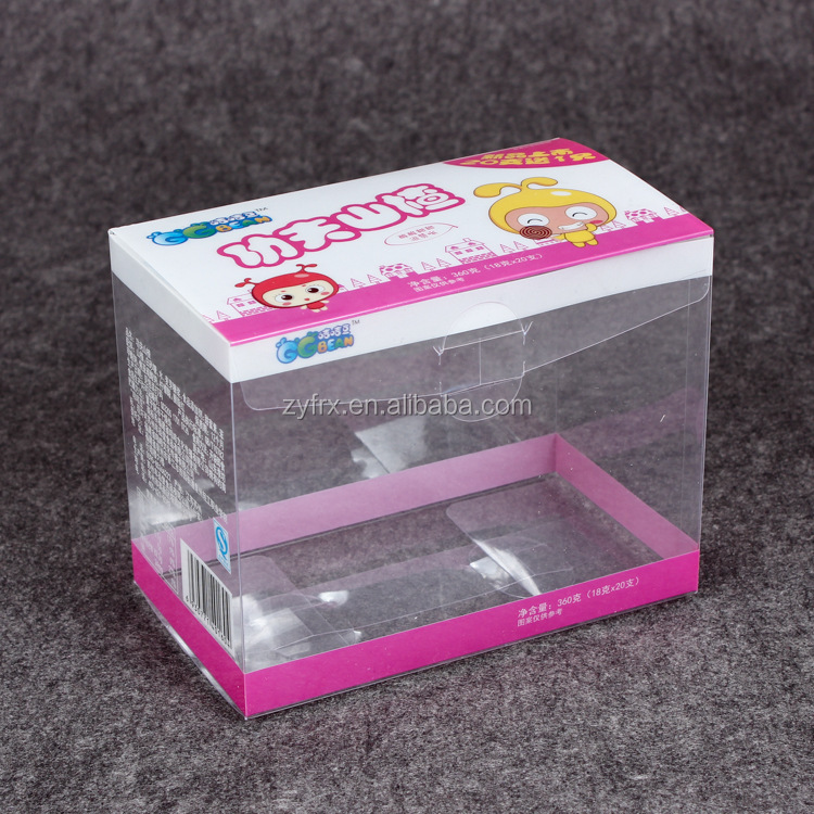 ZDCard Offset printing clear plastic soap box wholesale