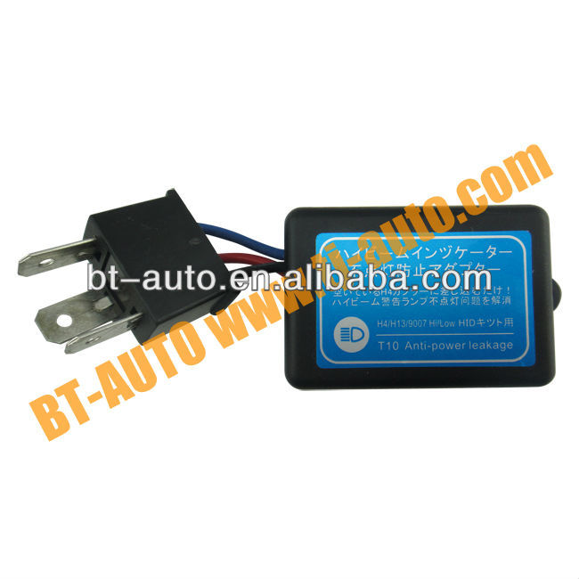 Car Negative Pole Canceller Solve the Problem of NO Hi-light Sign in Panel after HID installation,BTWC-008