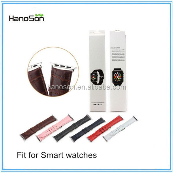 Soft Leather/Metal Watch Band For Smart watch more durable than Fashion Perlon Watch Strap
