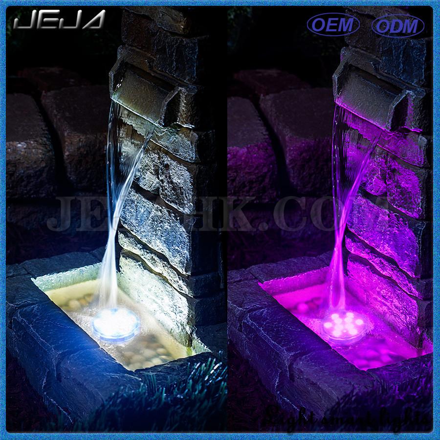 tanche clairage ext rieur t l commande jardin lumi res sous l 39 eau lampes autres clairage. Black Bedroom Furniture Sets. Home Design Ideas