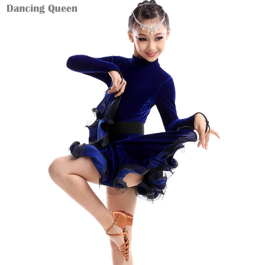 e70ab366bc05 Get Quotations · 2015 New Girls Dance Latin Dresses Kids Dance Costumes  Ballroom Dance Competition Dresses Cha Cha/