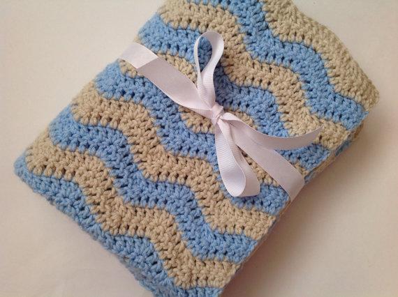 Climatizada manta de beb manta de beb de punto crochet - Mantas de punto hechas a mano ...