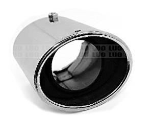 STAINLESS STEEL EXHAUST TAIL MUFFLER TIP PIPE For 2003-15 Toyota Rav4 MK3