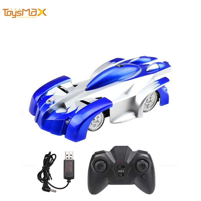 2019 Hot Children Funny Cheap Rechargeable 4 Channel Remote Control Wall Climbing Car