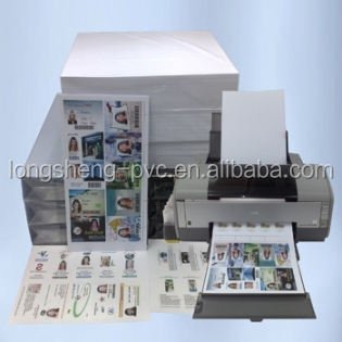 jinkjet Printable pvc sheet for cards