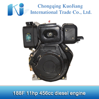 Good quality High efficiency Electric start 188F diesel engines