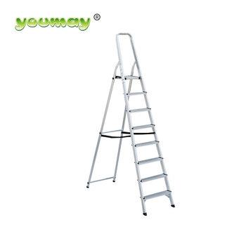 Lightweight Aluminum Folding Step Ladder Af0108a/aldi Ladder   Buy  Step,Step Ladder,Aldi Ladder Product On Alibaba.com