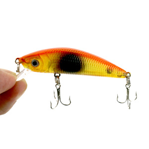Classic Minnow Bait 7CM 8.1G 3D Eyes Bass fishing Lures