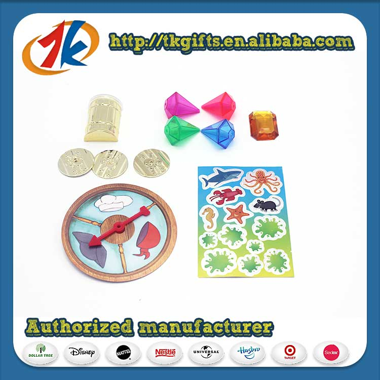 China Supplier Funny Pirate Treasure Set For Kids