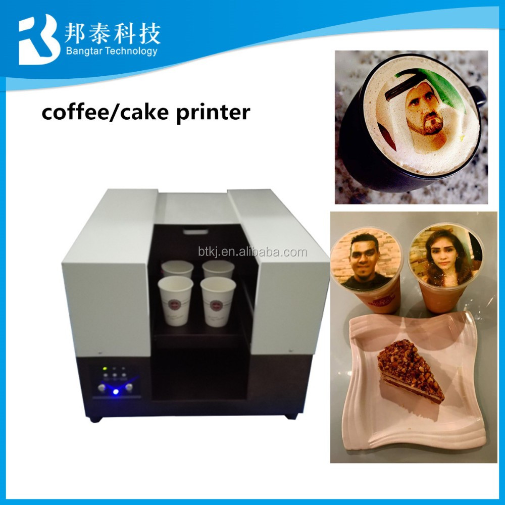 Capucino Latte Coffee 3d Printing Printer Amp Personalized