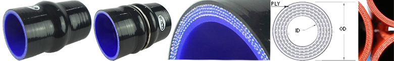silicone hose kits made of GT hose company