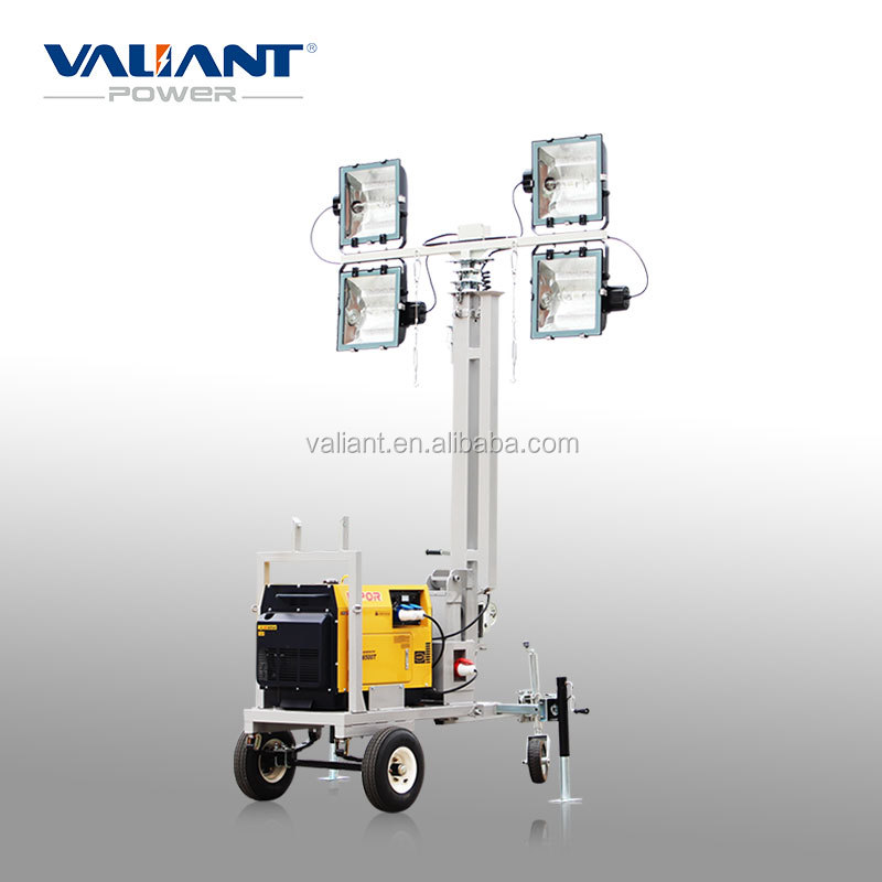 diesel light tower of mining lamp