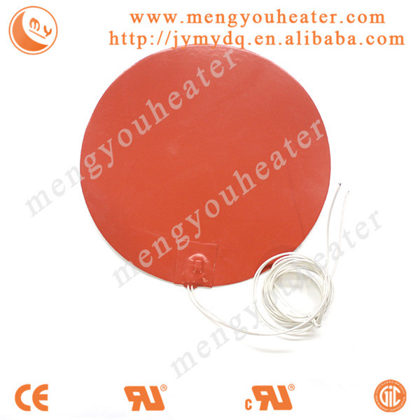 Heating element using in regulation of blood system silicone heater