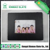 Wholesale Natural slate art craft stone photo frame