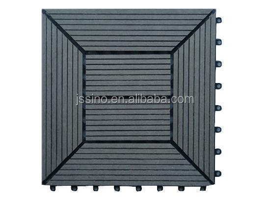Deck Plastic Base Wood Floor Interlocking Decking Tiles Outdoor