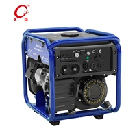 Powerful Gasoline Portable Generator 4.3kVA Inverter Generator 3.5kW Open Frame Generator Remote Start