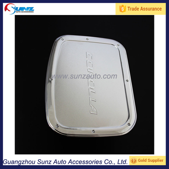 Auto Accesory Abs Chromed Fuel Tank Cap Cover For Toyota Corolla ...