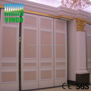 Interior Position And Folding Open Style Movable Partition Wall Living Room Glass Design