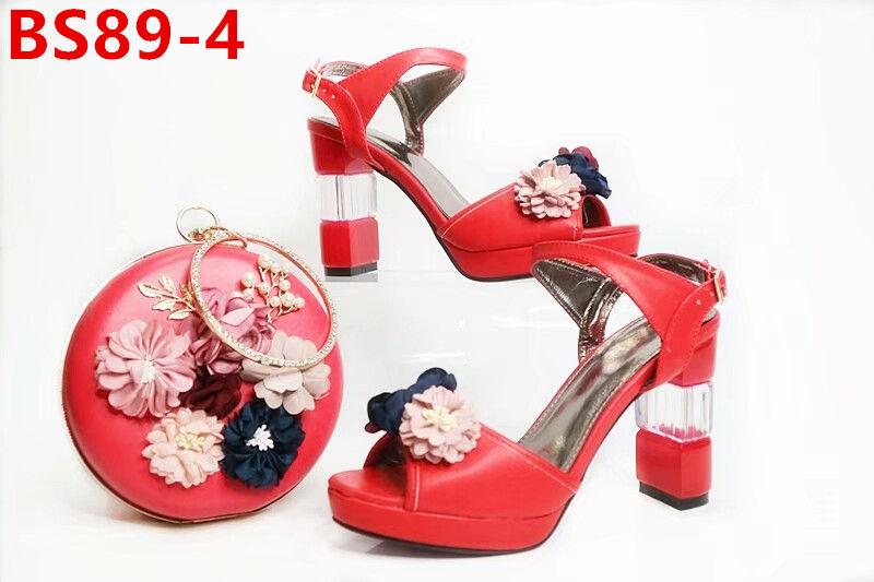 heel Nigeria party high shoes shoes and women 2017 bag color set beautiful blue CwXTqSX