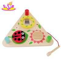 new popular children wooden knock music,hot sale baby toy knock music W07A061