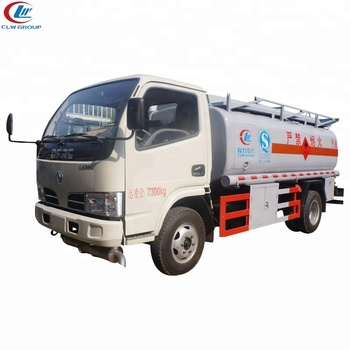 Dongfeng 5000 liters mini oil tank truck fuel delivery truck