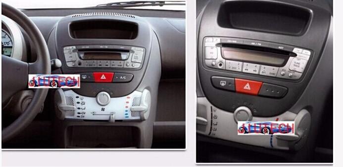 autoradio citroen c1 car radio for citroen c1/toyota aygo/peugeot
