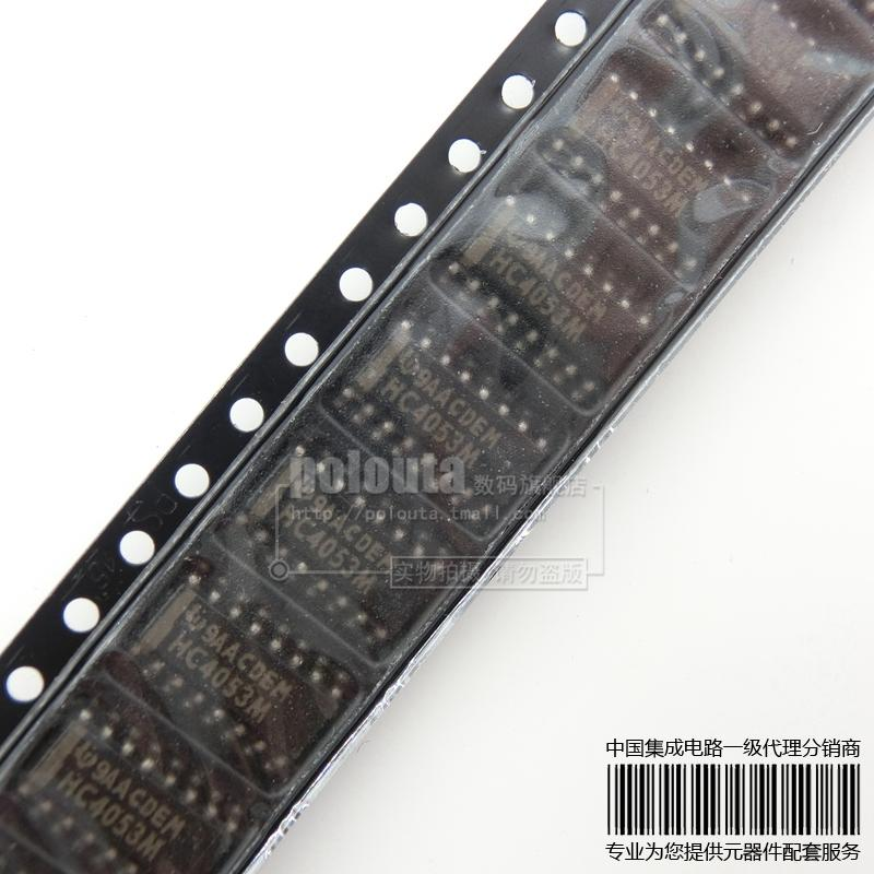 DIP-16 ANALOG MUX//DMUX TRI 2 X 1 TEXAS INSTRUMENTS CD74HC4053E IC 10 pieces