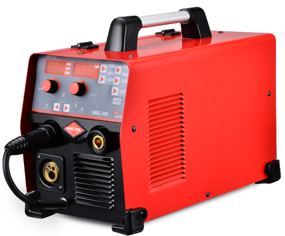 double pulse 200A MIG/MMA welding machine with stable output