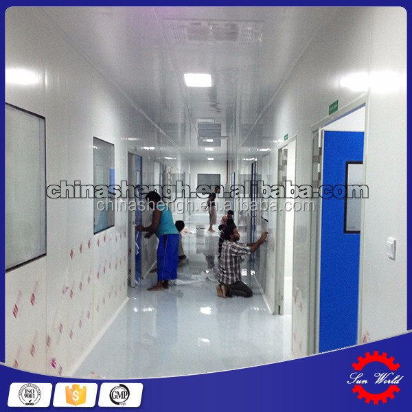 Clean room design and construction EPS panel clean room engineering full service